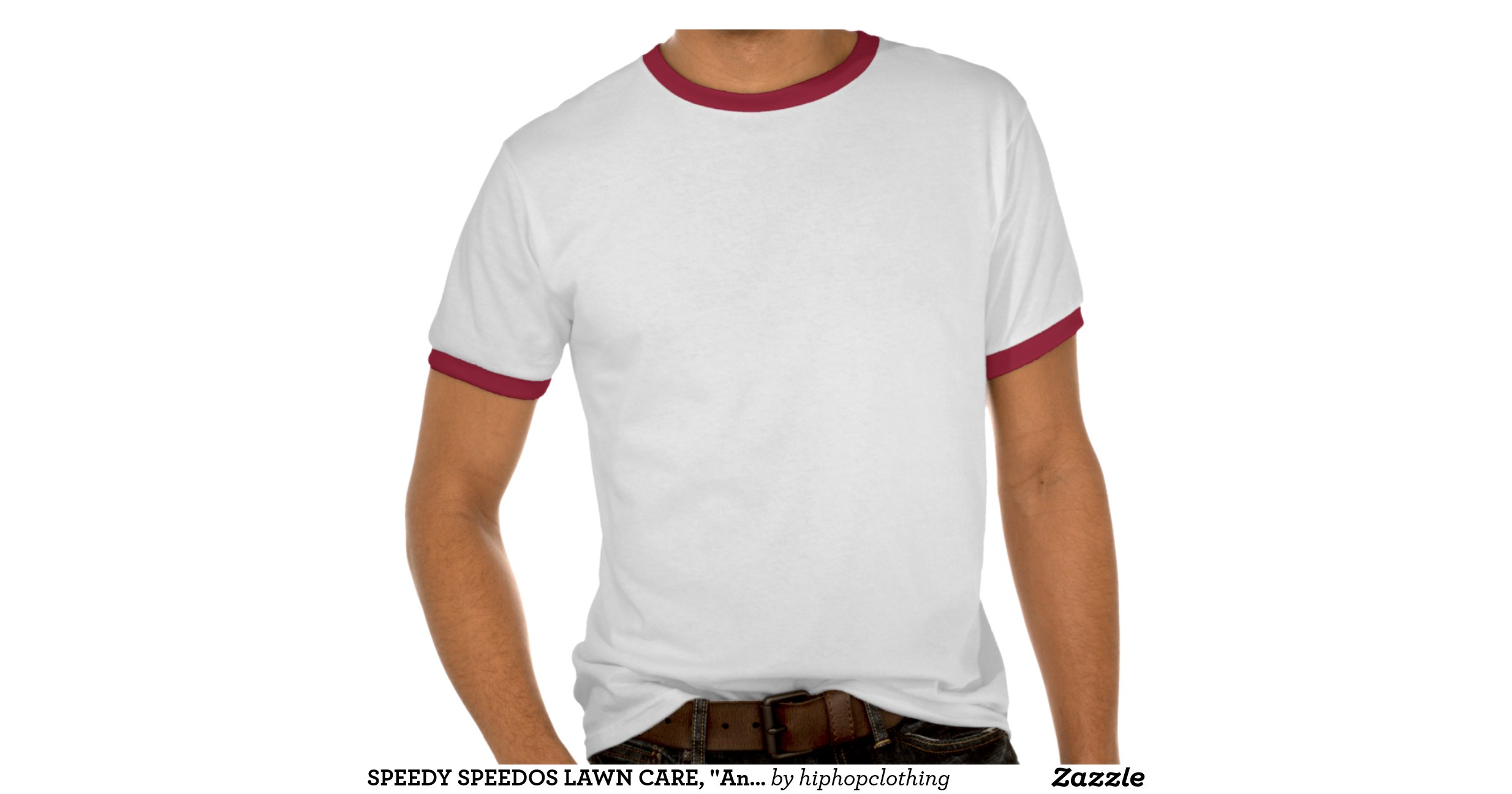 Speedy speedos lawn care any lawn any size tshirt zazzle for Lawn care t shirt designs