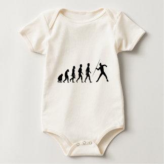 Speer javelin throw javelin Dorata Dory Dourata Baby Bodysuit