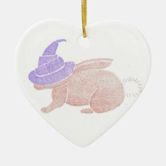 Spell Mishap Ceramic Heart Decoration