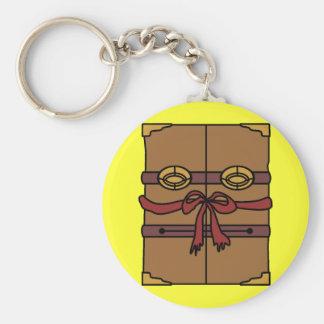 Spellbook Keychain