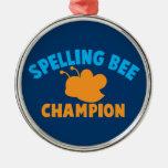 Spelling Bee Champion Christmas Tree Ornament