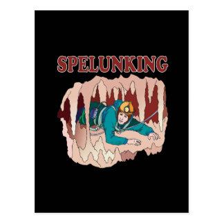 Spelunking 3 postcard