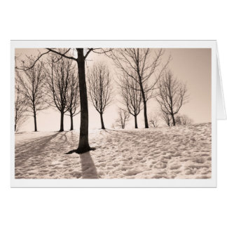 spending winter greeting cards