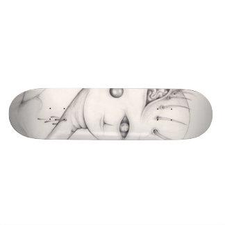 sperm monster skate deck