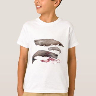 Sperm whale trio T-Shirt