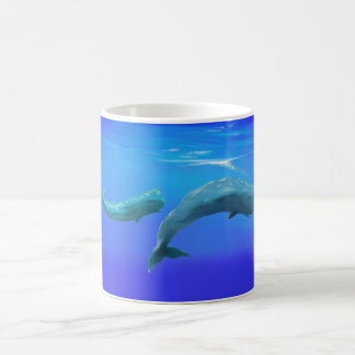 Sperm Whales Coffee Mug