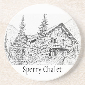 Sperry Chalet Commemorative Coaster