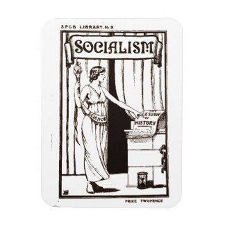SPGB Library No 9 Socialism (1920) pamphlet cover Magnet