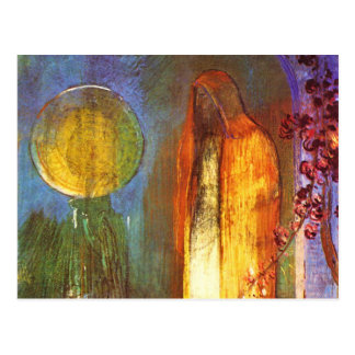Sphere by Odilon Redon Postcard
