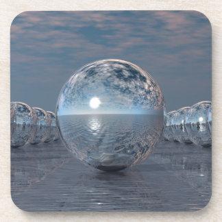 Spheres In The Sun Coaster
