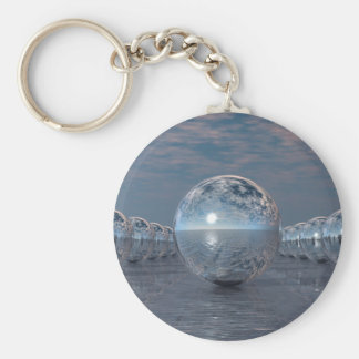 Spheres In The Sun Key Ring
