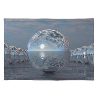 Spheres In The Sun Placemat