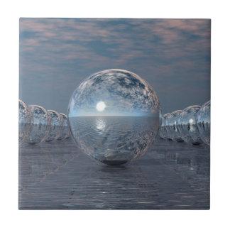 Spheres In The Sun Tile