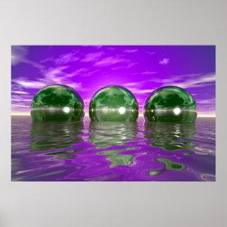 Spheres Poster