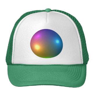 Spheres Shiny Hat