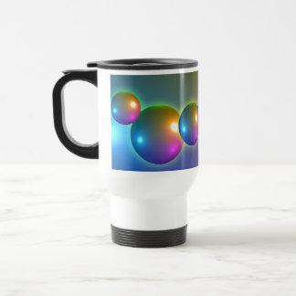 Spheres Shiny Mugs