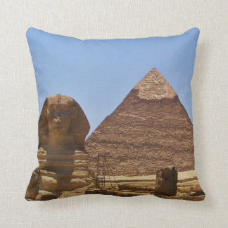 Sphinx And Pyramid Cushion