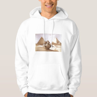 Sphinx in front of the pyramids hoodie
