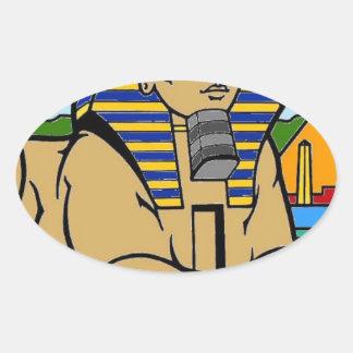 Sphinx Oval Sticker