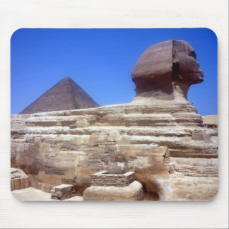 sphinx pyramid mouse pad