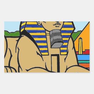 Sphinx Rectangular Sticker