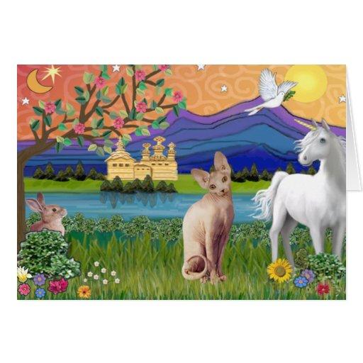 Sphynx Cat 1 - Fantasy Land Card