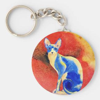 Sphynx Cat #1 Keychain