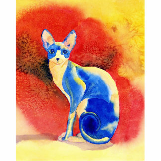 Sphynx Cat #1 Photo Cut Out