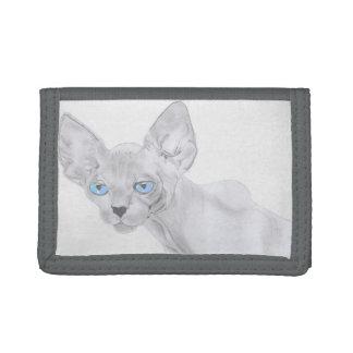 Sphynx Cat Art Wallet