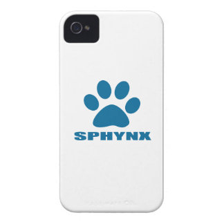 SPHYNX CAT DESIGNS iPhone 4 CASES