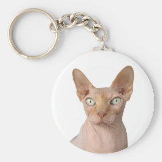 Sphynx Cat Key Ring