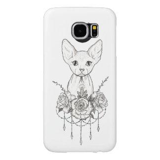 Sphynx Cat Samsung Galaxy S6 Cases