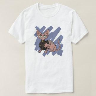 Sphynx Cat scratch T-Shirt