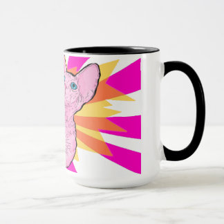 Sphynx Pop Art Mug