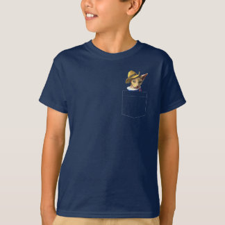Sphynx Sphinx Cat Pocket Pet T-Shirt