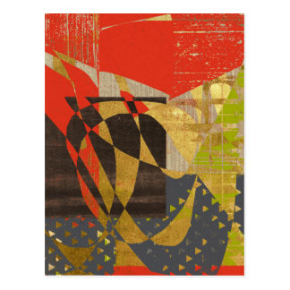 Spice Abstract Postcard