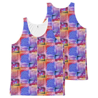 Spice All-Over Print Singlet