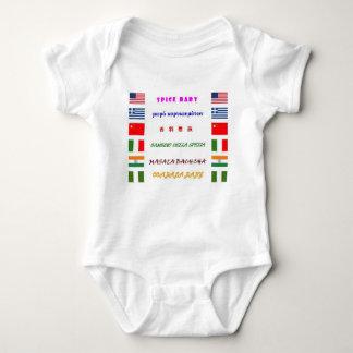 spice baby bodysuit
