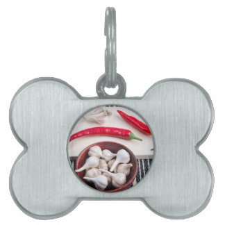 Spice background for cooking pet tag