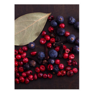 Spice Berries Postcard