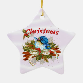 SPICE BIRD Christmas Star Ornament