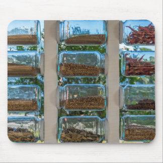 Spice jars mousepad