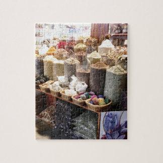Spice Souk Dubai Jigsaw Puzzle