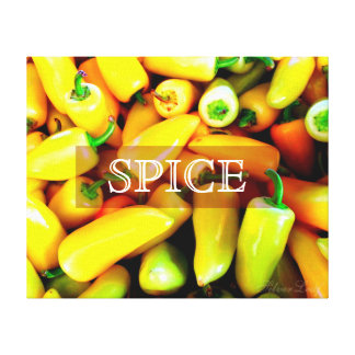Spice Stretched Canvas Prints
