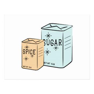 Spice Sugar Postcard