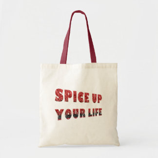 SPICE UP YOUR LIFE TOTE BAG