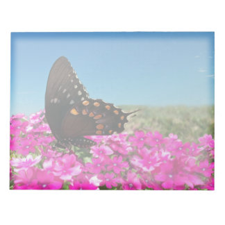 Spicebush Swallowtail Butterfly Memo Note Pads