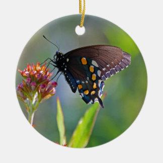 Spicebush Swallowtail II Ceramic Ornament