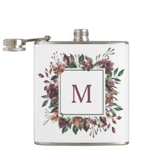 Spiced Botanical | Monogram Hip Flask