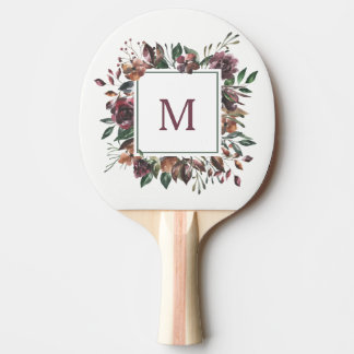 Spiced Botanical | Monogram Ping Pong Paddle